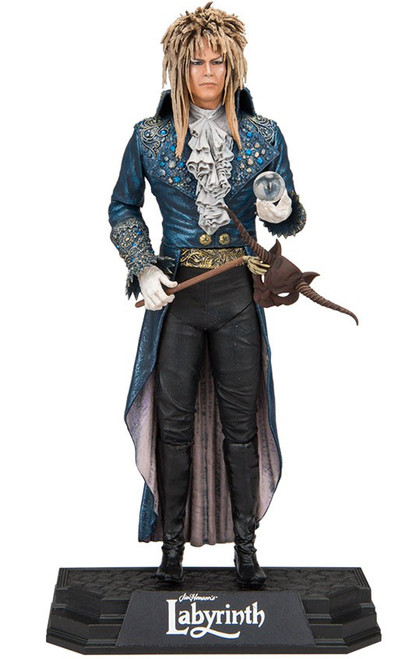 McFarlane Toys Labyrinth Color Tops Blue Wave Jareth Action Figure #15