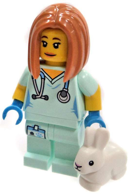 LEGO Minifigures Series 17 Veterinarian with Bunny Minifigure [Loose]