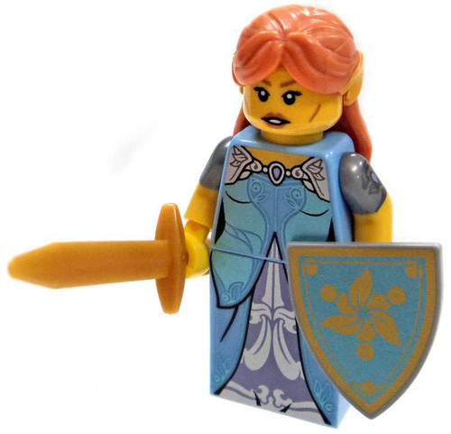 LEGO Minifigures Series 17 Elf Battle Princess Minifigure [Loose]