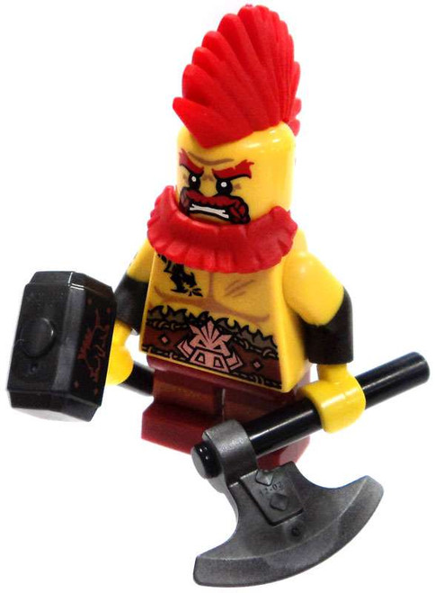 LEGO Minifigures Series 17 Dwarf Berserker Minifigure [Loose]