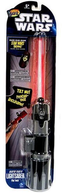 Star Wars A New Hope Mighty Beanz 2010 Darth Vader Lightsaber Flip Track