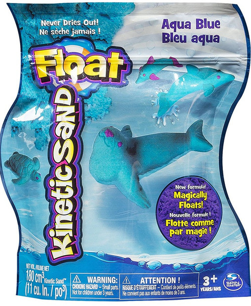 Kinetic Sand Float Aqua Blue