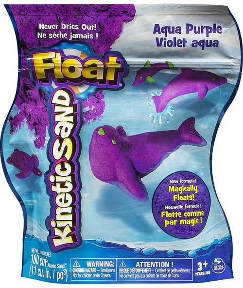 Kinetic Sand Float Aqua Purple