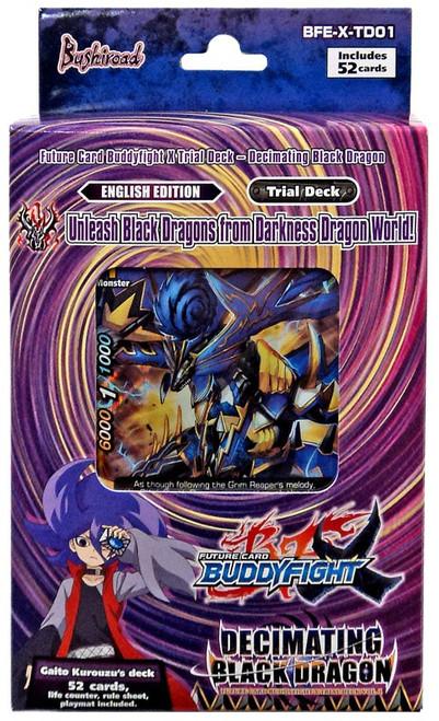 Future Card BuddyFight Trading Card Game Darkness Dragon World Decimating Black Dragon Vol. 1 Trial Deck