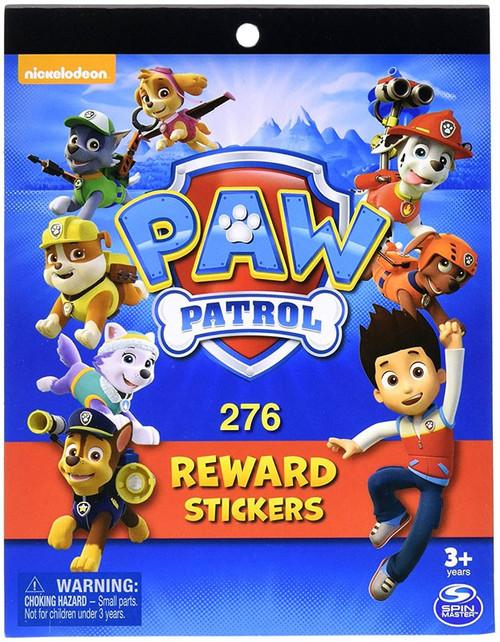 Paw Patrol 276 Reward Stickers Set