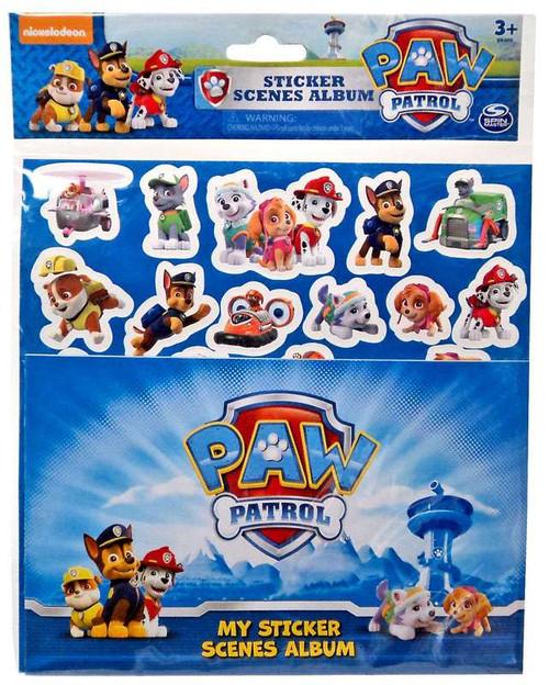Paw Patrol Sticker Scenes Album Set