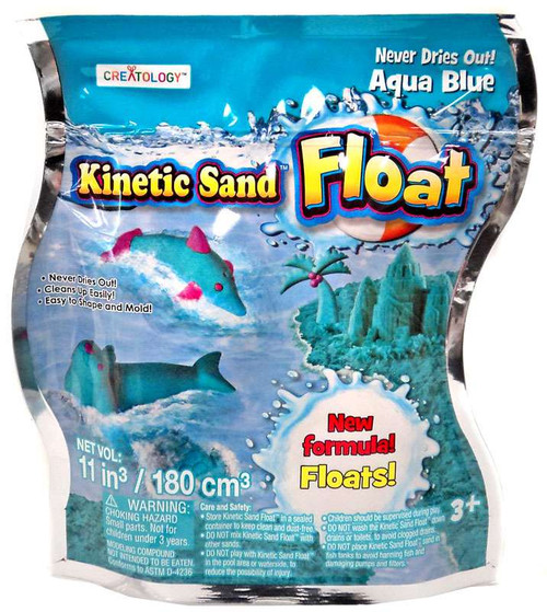 Kinetic Sand Float Aqua Blue [Creatology]