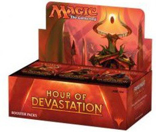 MtG Trading Card Game Hour of Devastation Booster Box [Russian]