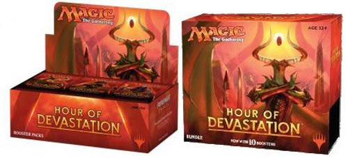 MtG Trading Card Game Hour of Devastation Booster Combo [Bundle and Booster Box]