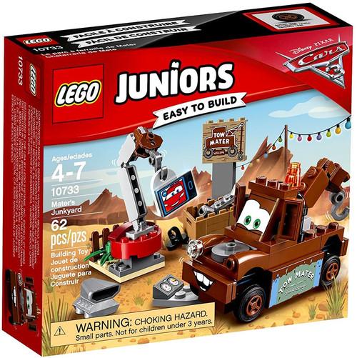 LEGO Disney / Pixar Cars Cars 3 Juniors Mater's Junk Yark Set #10733