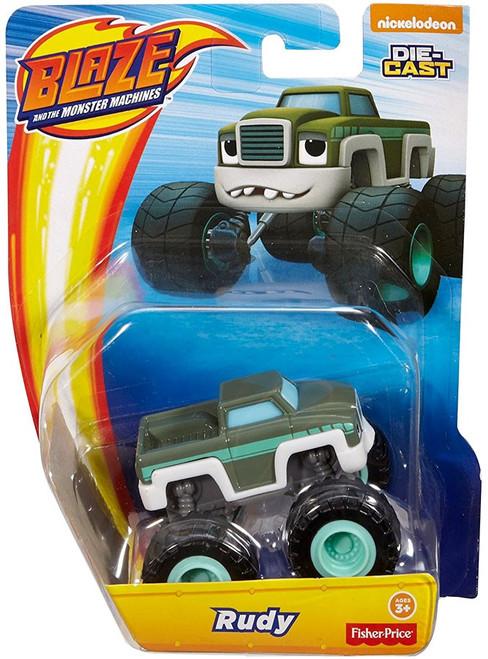 Fisher Price Blaze & the Monster Machines Nickelodeon Rudy Diecast Car