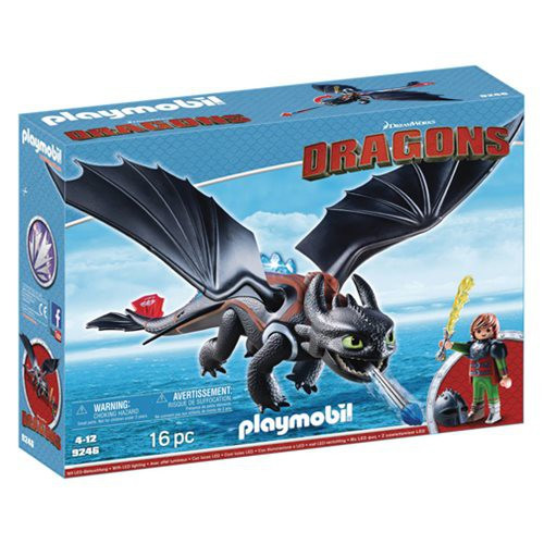 Playmobil Dragons How to Train Your Dragon Hiccup & Toothless Set #9246