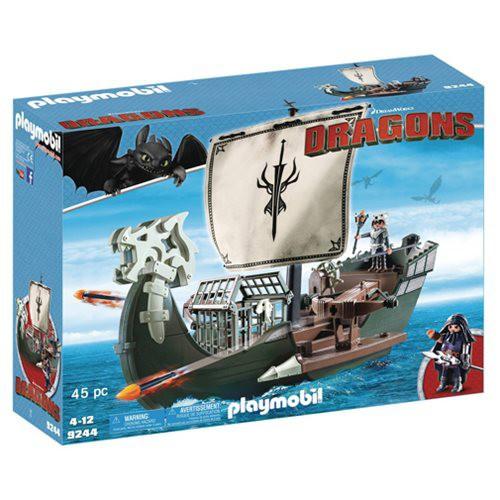Playmobil Dragons How to Train Your Dragon Drago's Ship Set #9244