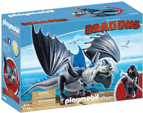 Playmobil Dragons How to Train Your Dragon Drago & Thunderclaw Set #9248