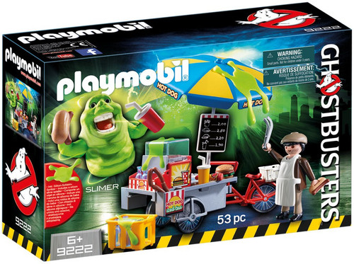 Playmobil Ghostbusters Slimer with Hot Dog Stand Set #9222