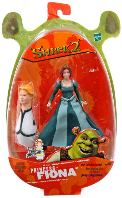 Shrek 2 Spin Kick Princess Fiona Action Figure [Scented Prince Charming]