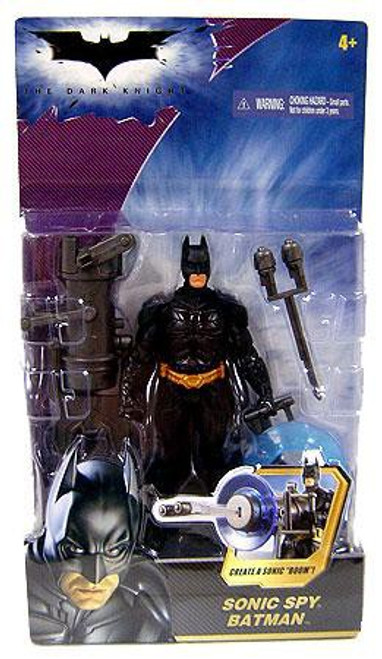 The Dark Knight Batman Action Figure [Sonic Spy, 2008 Packaging]