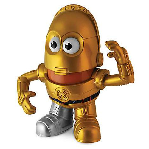 Star Wars Pop Taters C-3PO Mr. Potato Head [Damaged Package, Mint Figures]