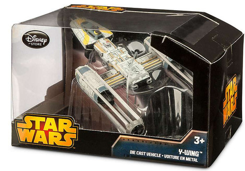Disney Star Wars A New Hope Y-Wing Fighter Exclusive 4-Inch Diecast Vehicle [Damaged Package]