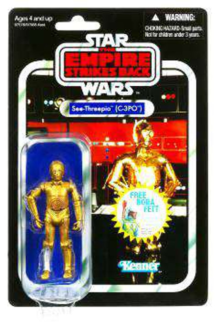 Star Wars The Empire Strikes Back Vintage Collection 2010 C-3PO Action Figure #06 [Damaged Package]