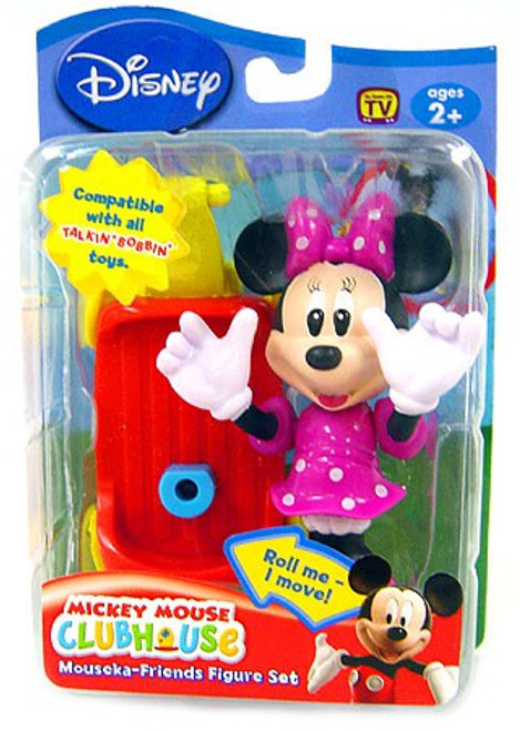 Disney Mickey Mouse Clubhouse Mouseka Friends Minnie Mouse 3-Inch Mini Figure