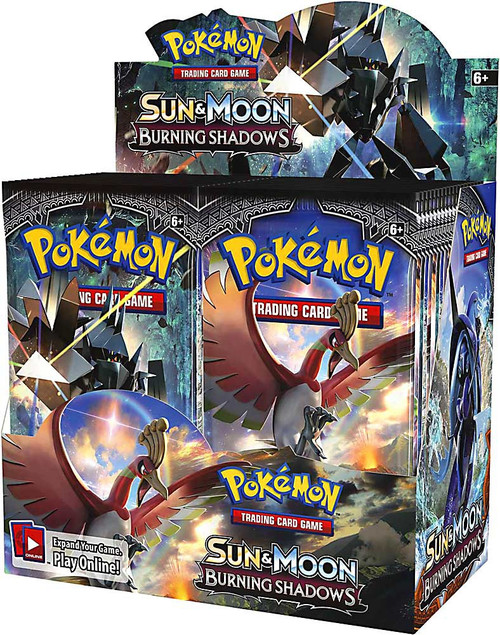 Pokemon Trading Card Game Sun & Moon Burning Shadows Booster Box [36 Packs]