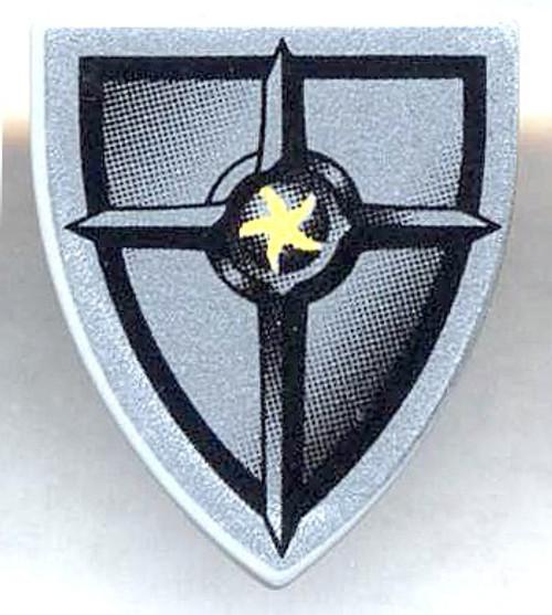 LEGO Triangular Shield with Star Logo Loose Accessory [Loose]