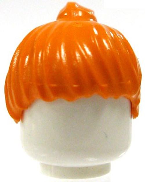 LEGO Orange Ponytail Loose Hair [Loose]