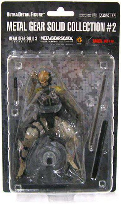 Metal Gear Solid Series 2 Raiden 7-Inch Collectible Figure [MGS4, Loose]