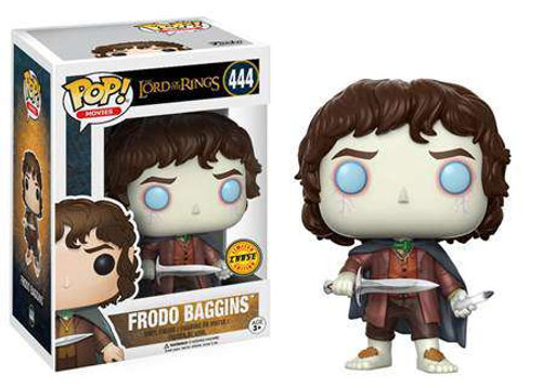 Funko Lord of the Rings POP! Movies Frodo Baggins Vinyl Figure #444 [Chase Version]