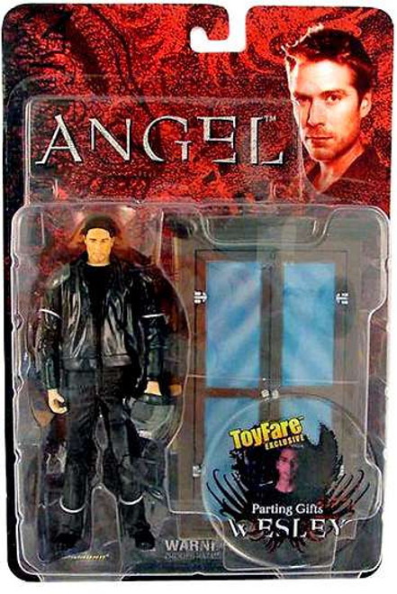 Angel Series 3 Wesley Exclusive Action Figure [Parting Gifts, Carded, Damaged Package]