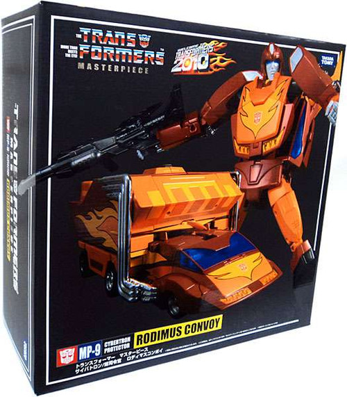 Transformers Japanese Masterpiece Collection Rodimus Convoy Action Figure MP-9 [Damaged Package]