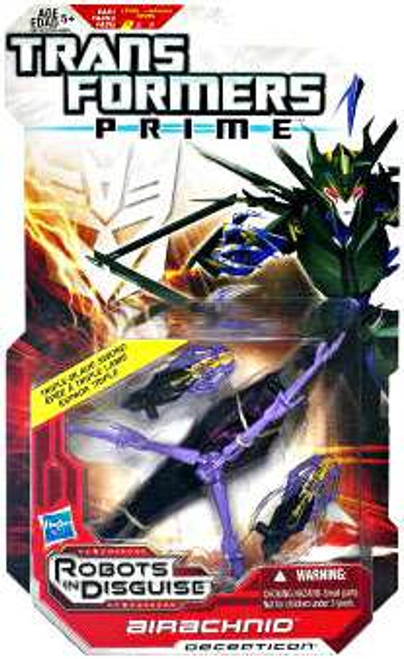 Transformers Prime Robots in Disguise Airachnid Deluxe Action Figure [Damaged Package]