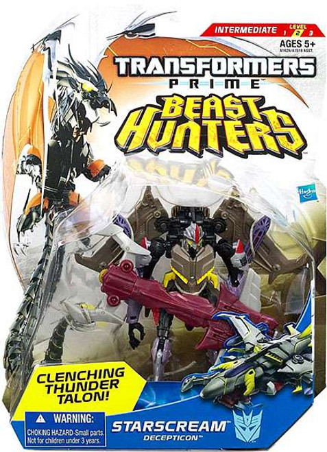Transformers Prime Beast Hunters Starscream Deluxe Action Figure [Damaged Package]