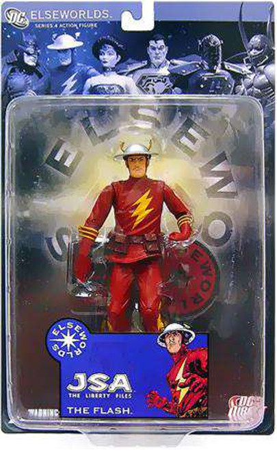 DC Elseworlds Series 4 JSA The Liberty Files The Flash Action Figure [Damaged Package]