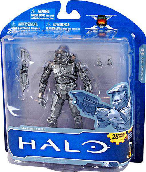 McFarlane Toys Halo 10th Anniversary Series 1 Advance Master Chief Exclusive Action Figure [Platinum, Loose]
