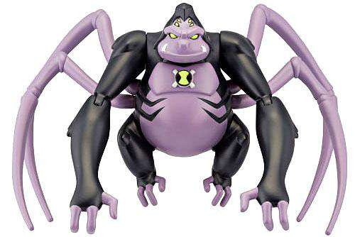 Ben 10 Ultimate Alien Spidermonkey Action Figure [Ultimate, Damaged Package]