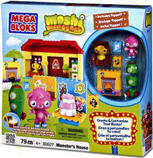 Mega Bloks Moshi Monsters Monster's House Set #80627 [Damaged Package]
