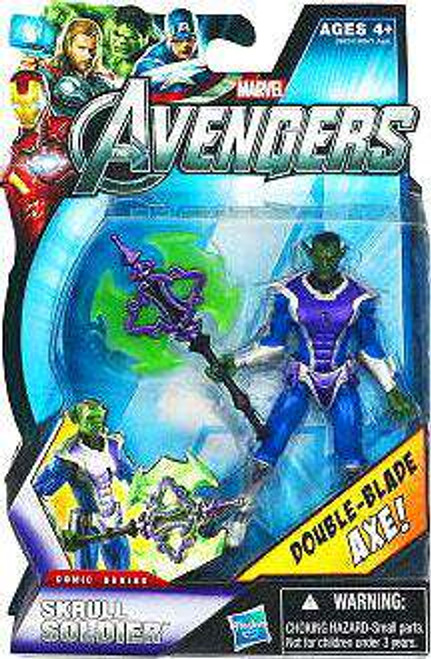 Marvel Avengers Comic Series Skrull Soldier Action Figure [Damaged Package]