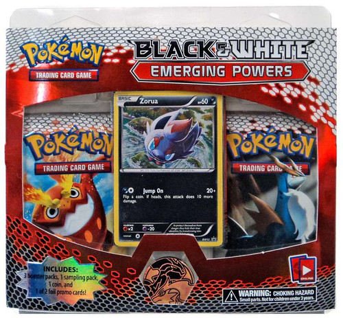 Pokemon Trading Card Game Black & White Emerging Powers Zorua Special Edition [3 Booster Packs, Sampling Pack, Promo Card & Coin!]