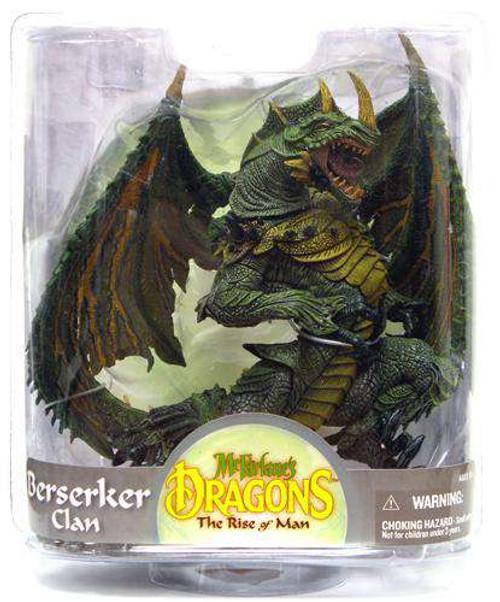 McFarlane Toys Dragons The Rise of Man Series 7 Berserker Dragon Action Figure [Damaged Package]