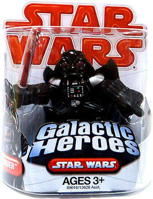 Star Wars A New Hope Galactic Heroes 2009 Darth Vader Mini Figure [Damaged Package]