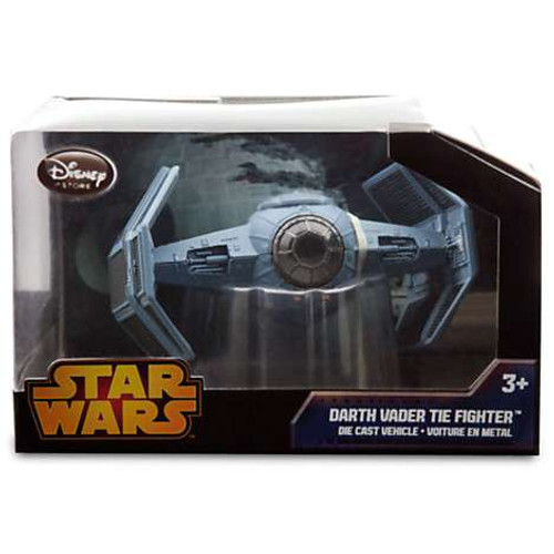Disney Star Wars A New Hope Darth Vader Tie Fighter Exclusive Diecast Vehicle [Black Box, Damaged Package]