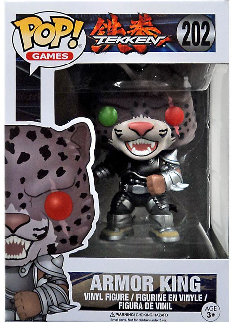 Funko Tekken POP! Games Armor King Exclusive Vinyl Figure #202