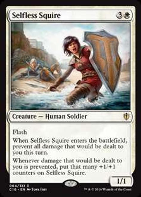 MtG Commander 2016 Rare Selfless Squire #4