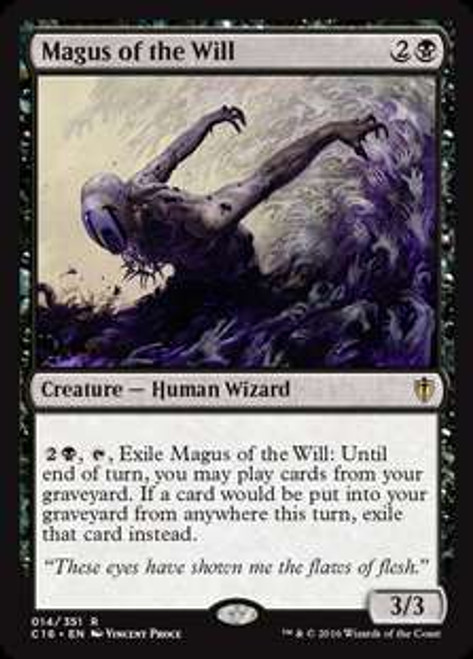 MtG Commander 2016 Rare Magus of the Will #14