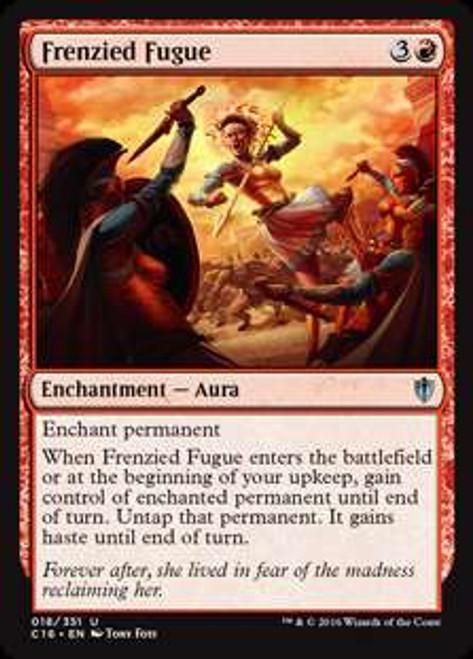 MtG Commander 2016 Uncommon Frenzied Fugue #18