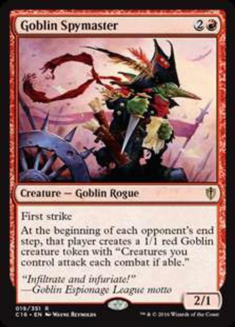 MtG Commander 2016 Rare Goblin Spymaster #19