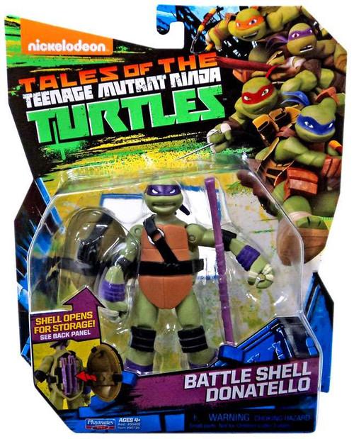 Teenage Mutant Ninja Turtles Tales of the TMNT Battle Shell Donatello Action Figure
