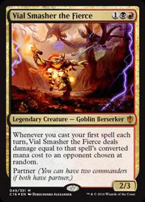 MtG Commander 2016 Mythic Rare Vial Smasher the Fierce #49